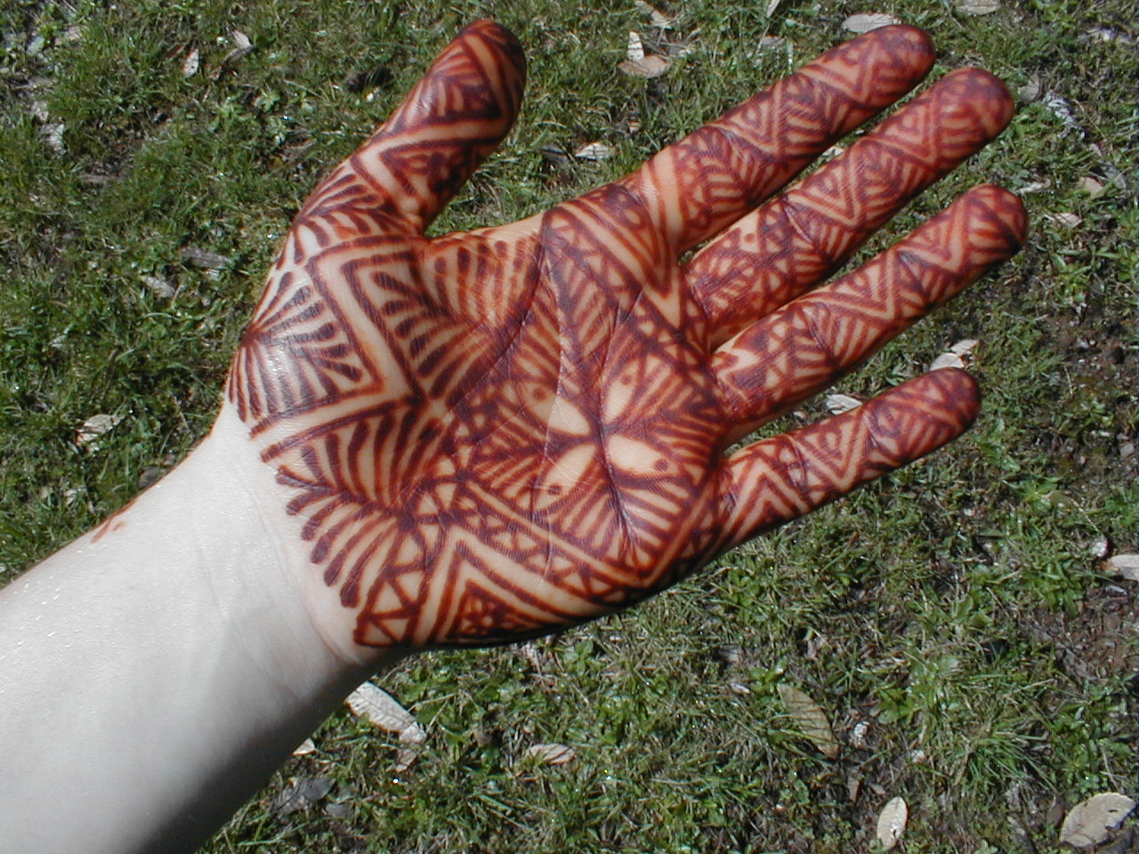 natural product henna as